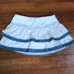 Lucky in Love Tennis Skirt Size S. EUC.